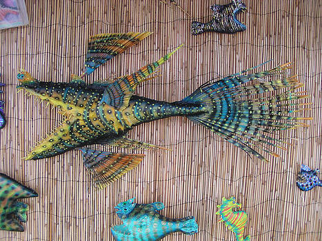 Lenny the Dragon fish by Dan Townsend