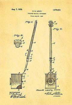 Ian Monk - Lentz Jug Band Instrument Patent Art 1928