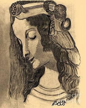 Leonardo Di Vinci's Magdalene by Neil Stuart Coffey