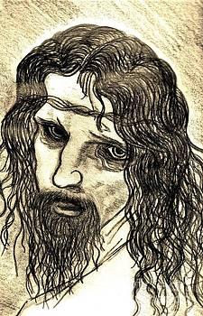 Leonardo Di Vincis The Christ by Neil Stuart Coffey