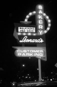 Leonard's Malasadas B/W by Julie Shiroma