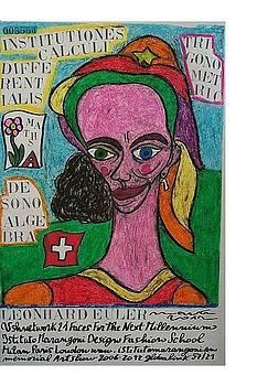 Leonhard Euler  by Francesco Martin