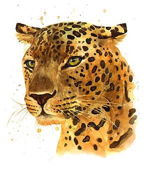 Leopard Gaze by Alison Fennell