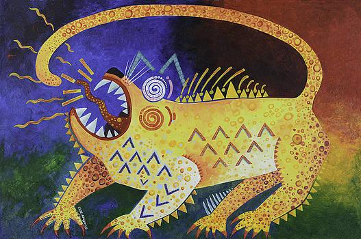 Leopard by Gunther Stammer