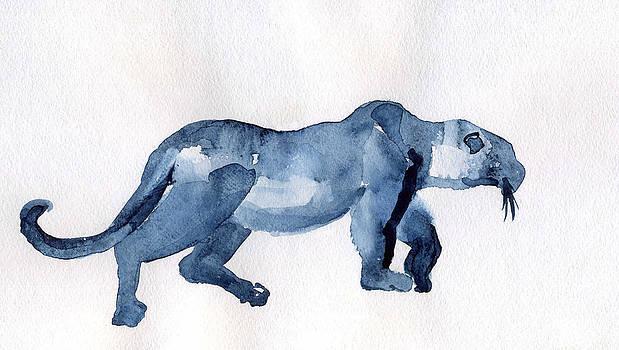 Leopard by Lelia Sorokina