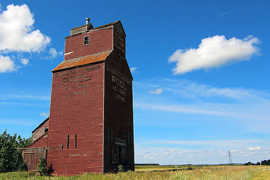 Lepine Grain Elevator by Gerald Murray Photography