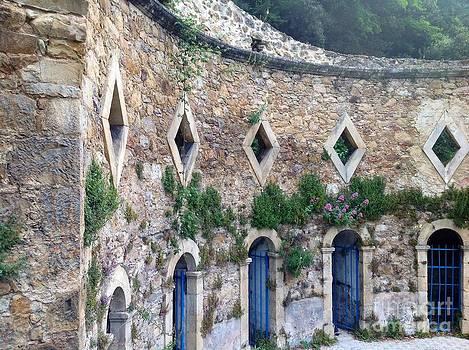 The Roman Baths by France  Art