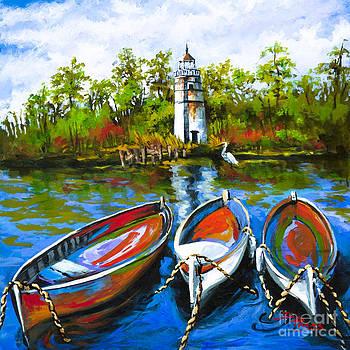 Les Bateaux by Dianne Parks