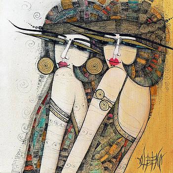 Les Demoiselles by Albena Vatcheva