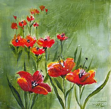 Michelle Wiarda-Constantine - Les Fleurs Rouges