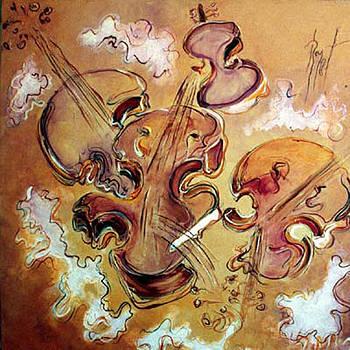 Les violons fous by Bernard RENOT