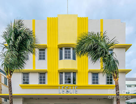 Ian Monk - Leslie Hotel South Beach Miami Art Deco Detail 3