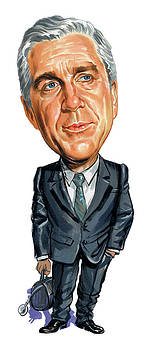 Leslie Nielsen as Dr. Barry Rumack by Art