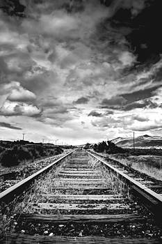 Less-Traveled Rail by Griffeth Barker