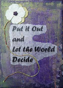 Let The World Decide - 2 by Gillian Pearce