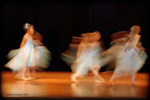 Lets Dance by Regina  Vasquez