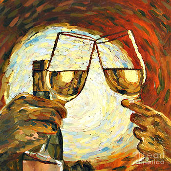 Let's Toast by Donna Schaffer