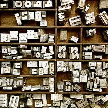 Letterpress by Kimberly Nickoson