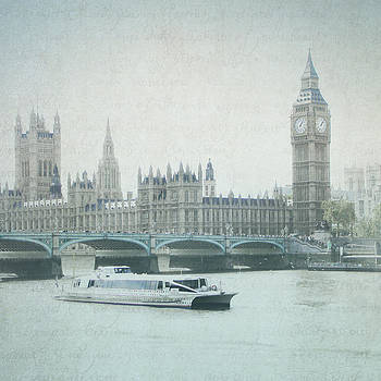 Letters From The Thames - London by Lisa Parrish