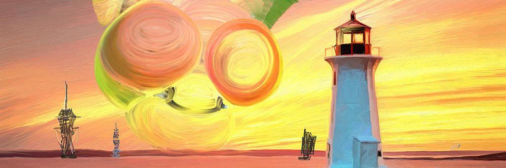 Leuchtturm II by Olaf Strobel