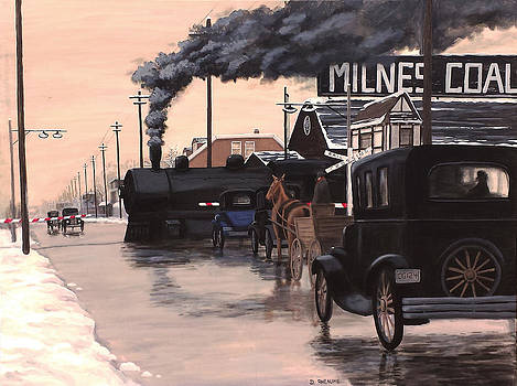 Level Crossing by Dave Rheaume