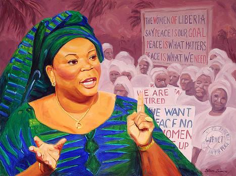 Leymah Gbowee by Steve Simon