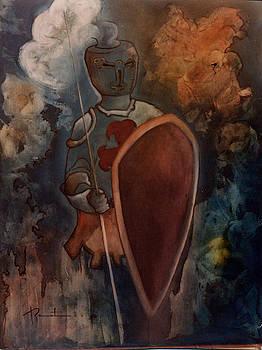 L'homme d'arme by Bernard RENOT