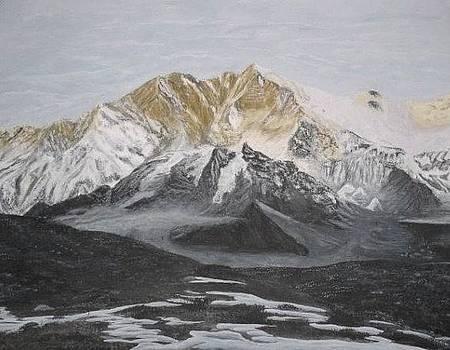 Lhotse by Karma Gurung