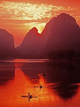 Dennis Cox - Li River dawn