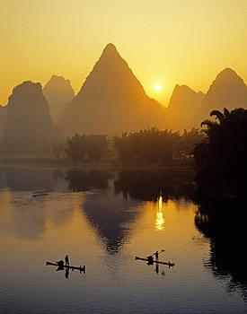 Dennis Cox - Li River sunrise