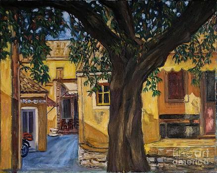 Liabades village in Corfu island by Ina Gerogianni