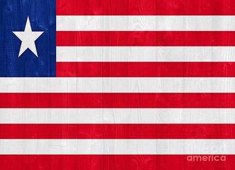 Liberia flag by Luis Alvarenga