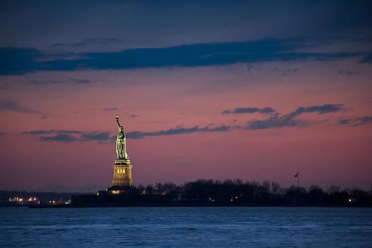 Liberty At Dusk by Tim Drivas