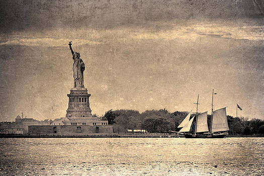 Liberty Enlightening the World by Eric Ferrar