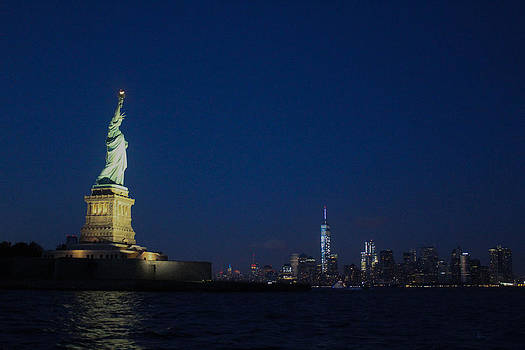 Liberty Overlooking Freedom by Tammy Kuiper