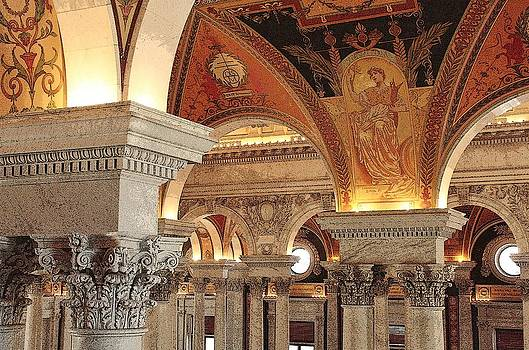 Library of Congress 2 by Linda Russell