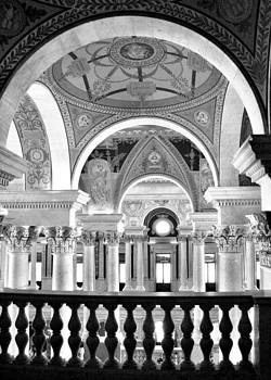 Library of Congress BW by Linda Russell