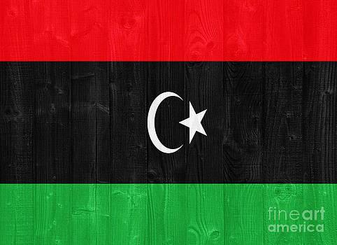 Libya flag by Luis Alvarenga