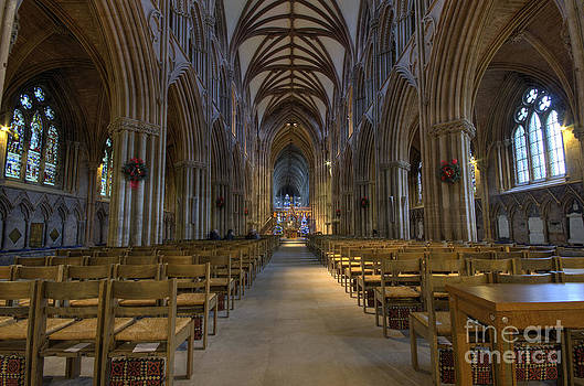 Lichfield cathedral 1 by Steev Stamford