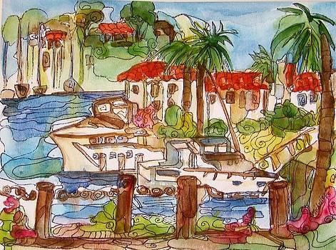 Lido Island- Newport Beach by Michelle Gonzalez