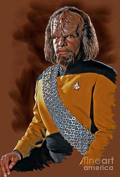 Lieutenant Worf by Stephen Shub