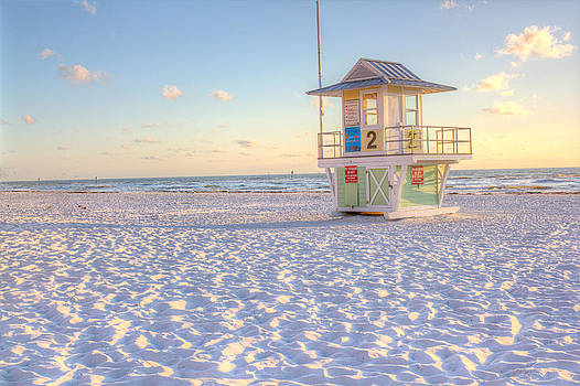 Life guard house Clearwater by Robert Jones