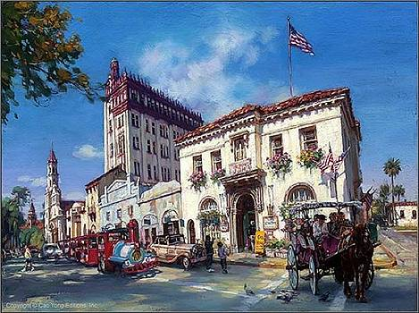 Life In St Augustine Fl  by Cao Yong