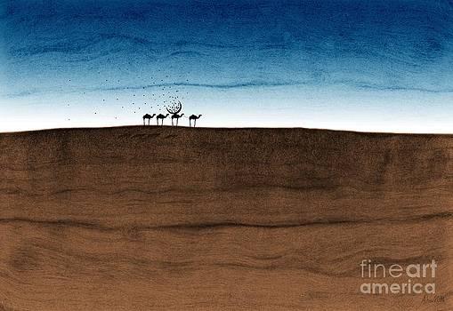Life in the desert by Joanna Cieslinska