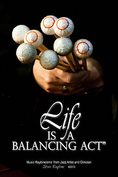 Life is a Balancing Act by Steve  Raybine