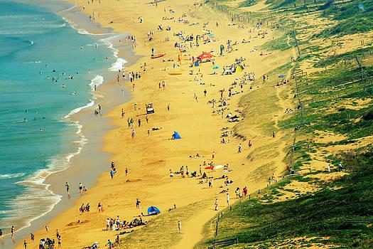 Life is a beach. by Beata  Czyzowska Young