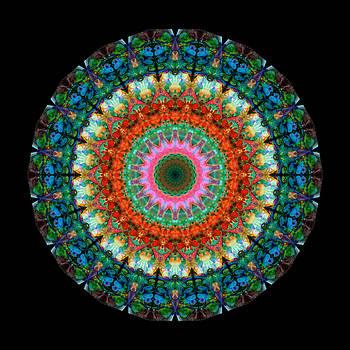 Sharon Cummings - Life Joy - Mandala Art By Sharon Cummings
