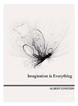Life Quotes - Albert Einstein by Trilby Cole