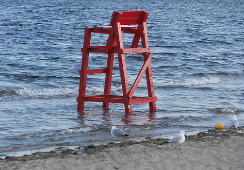 Kate Gallagher - Lifeguard Chair Goes For A Swim