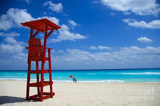 Lifeguard Chair  by Sarah Mullin